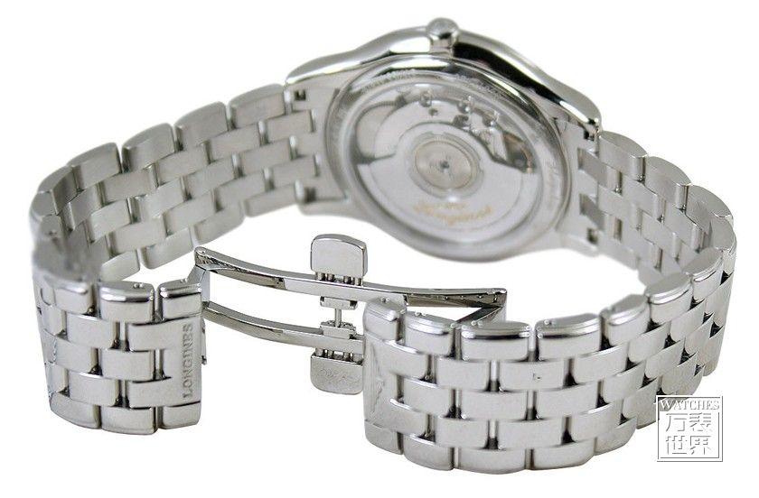 将手表表带放入截表链器