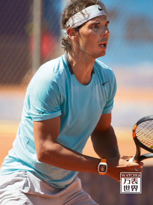 Richard Mille捐赠RM 27-02 Rafael Nadal纳达尔陀飞轮腕表原型样件给与Only Watch 2015慈善拍卖会