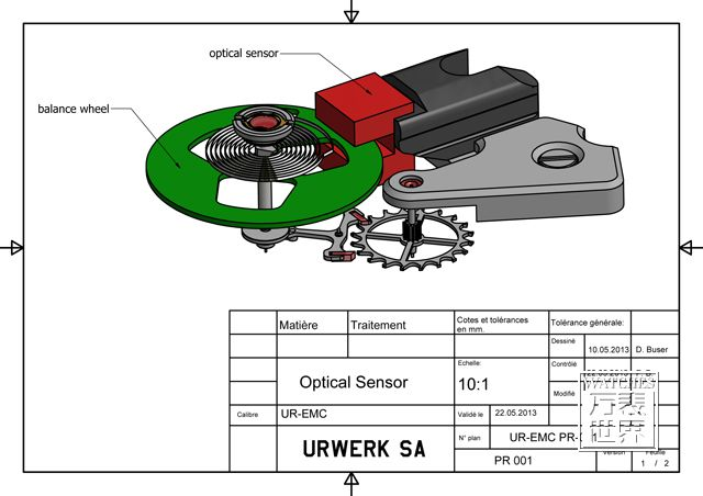 Urwerk发表史上首见的「智能机械机芯」概念