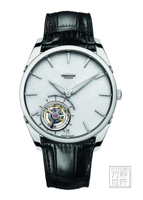 帕玛强尼携手王中磊先生共呈Tonda 1950超薄飞行陀飞轮腕表