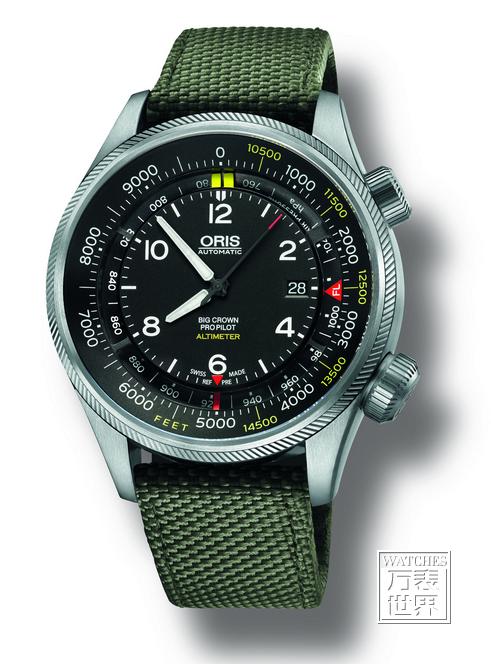 豪利时大表冠飞行员海拔测量腕表沪上发布,谢霆锋潮范登场