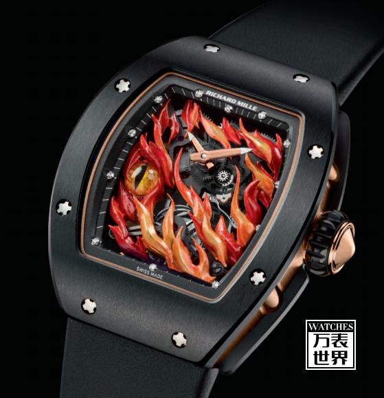 理查德米勒推出RM 26-02 EVIL EYE邪恶之眼陀飞轮腕表