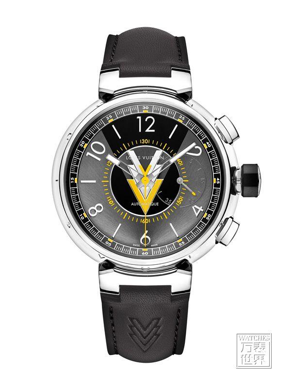 路易威登推出全新Tambour VVV 腕表