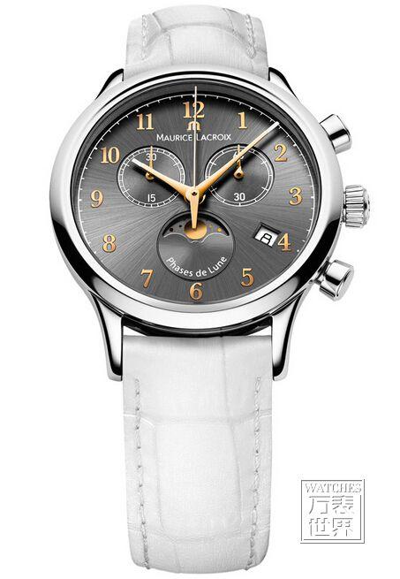 艾美典雅系列计时月相女装腕表