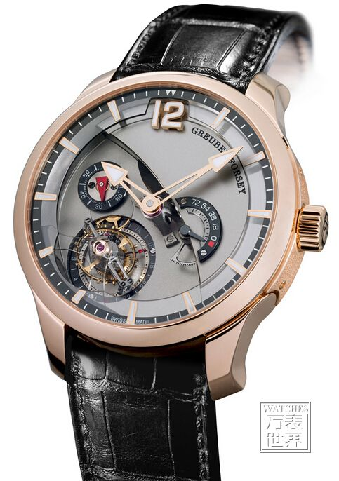 高珀富斯推出全新Tourbillon 24 Secondes Contemporain钛金机芯腕表