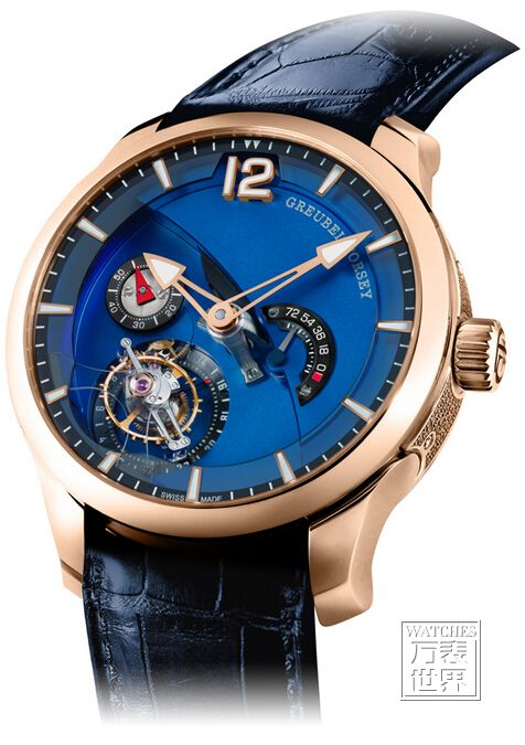 高珀富斯推出Tourbillon 24 Seconds Contemporain 5N红金款式 限量33枚