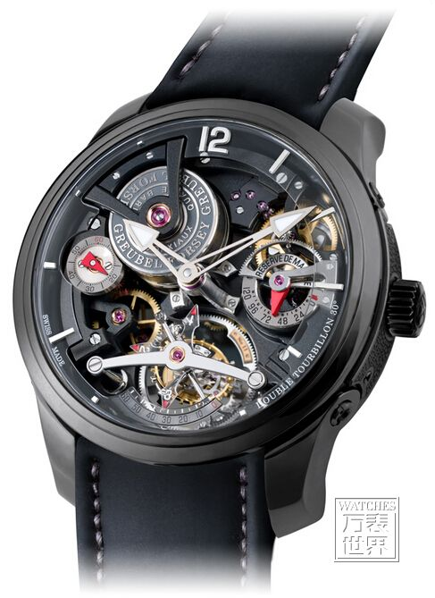 高珀富斯Double Tourbillon Technique Black腕表