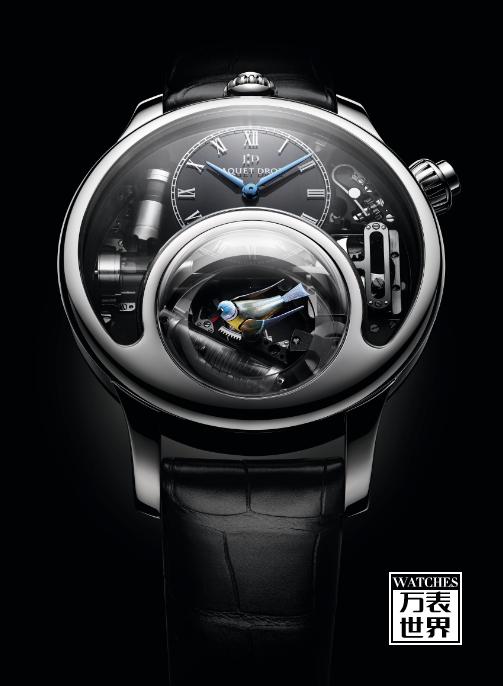 雅克德罗迷人的时光之鸟获日内瓦高级钟表大赏重量级奖项
