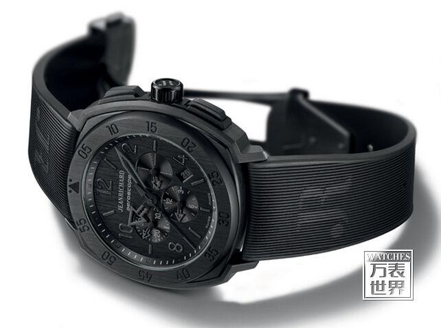 黑色的力量 尚维沙Nerscope限量版腕表