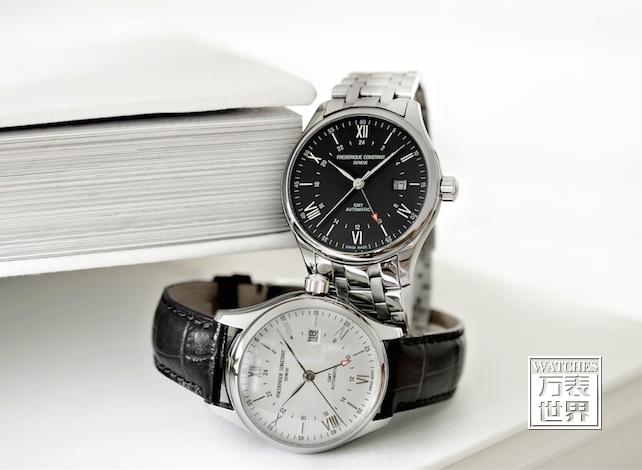 康斯登呈现全新典雅焯见自动GMT腕表