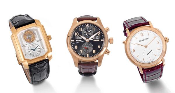 欧洲有史以来最大型的个人手表收藏拍卖