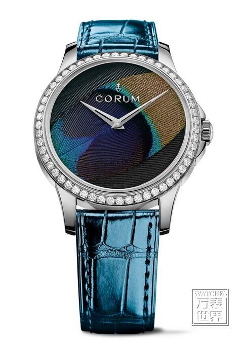 昆仑表(CORUM)推出新品羽毛腕表