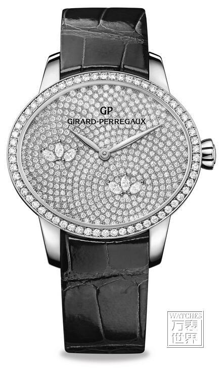 芝柏推出全新猫眼系列水之莲高级珠宝腕表