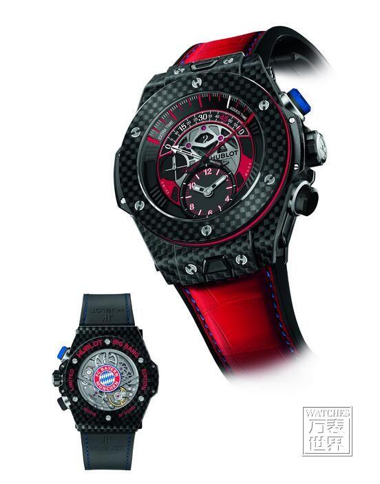 宇舶发布Big Bang Unico双逆跳拜仁慕尼黑限量腕表