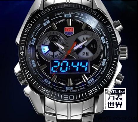 什么叫双机芯手表?双机芯手表推荐