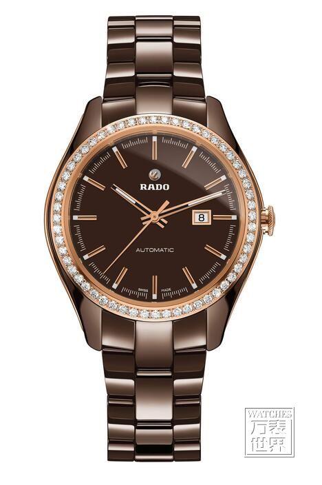 雷达表圣诞呈现巧克力棕色高科技陶瓷腕表