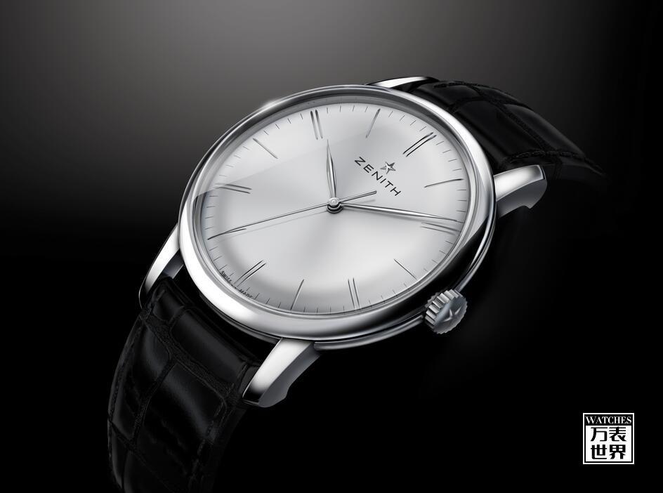 最好看的绅士正装腕表:Elite 6150