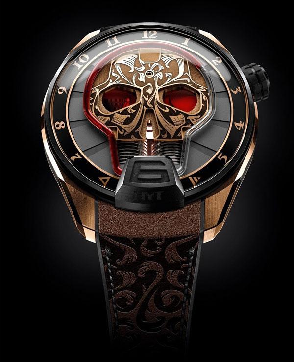 HYT 推出Skull Maori 毛利图腾版腕表