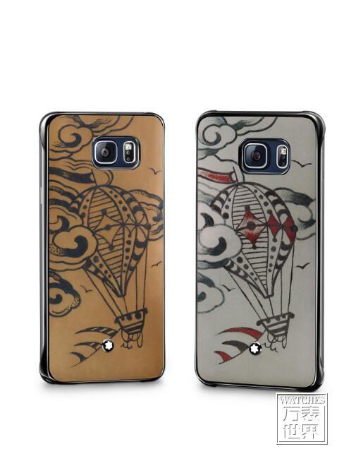 万宝龙与三星联合推出手工刺青图案限量版手机保护壳