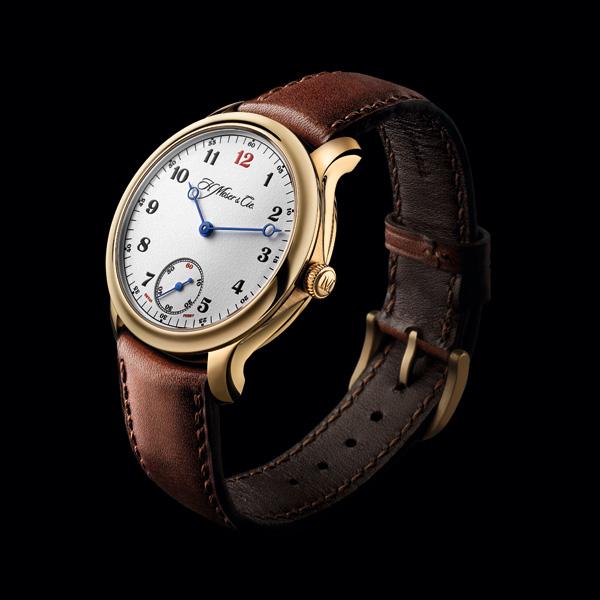 亨利慕时推出限量版勇创者小秒针布莱恩·费瑞腕表