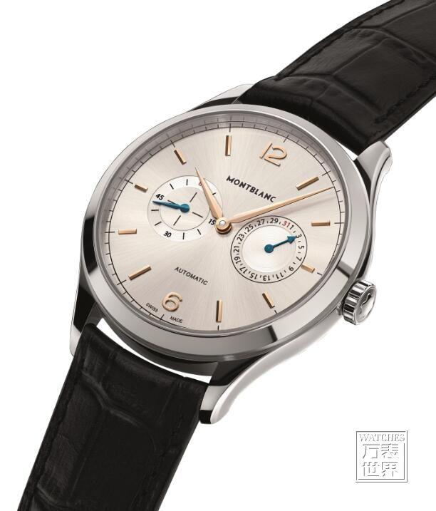 万宝龙传承精密计时系列推出年历计时码表和日历显示复杂功能腕表