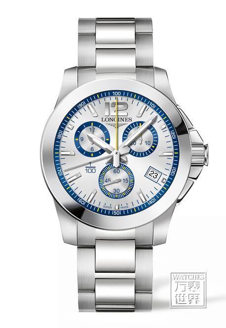 浪琴表推出康卡斯系列1/100th 圣莫里茨滑雪纪念版腕表