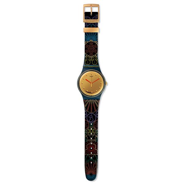 SWATCH推出圣诞特别款腕表