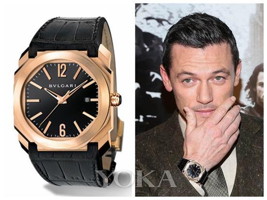 当高颜值型男遇上高颜值的手表 谁更胜一筹
