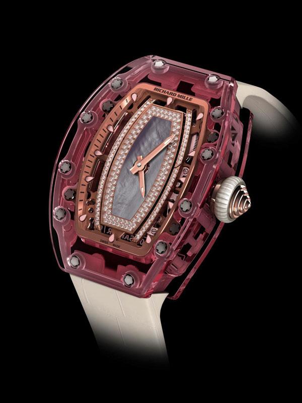 理查德·米勒全新RM 07-02 Pink Lady腕表
