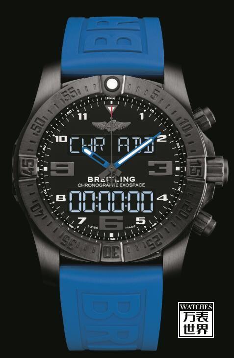 百年灵推出外太空计时B55腕表