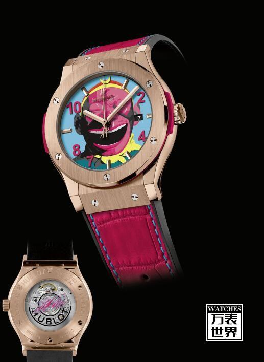 宇舶携手艺术家发布猴王腕表