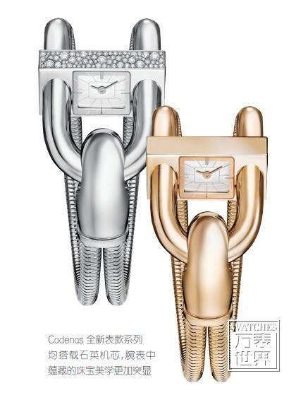 梵克雅宝 Cadenas 腕表:佳人与珠宝共谱传奇