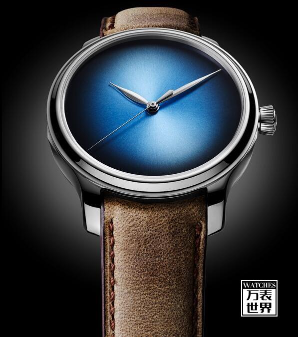 亨利慕时推出勇创者大三针电光蓝概念腕表