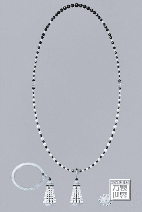 梵克雅宝推出Pompon可转换款式长项链珠宝表