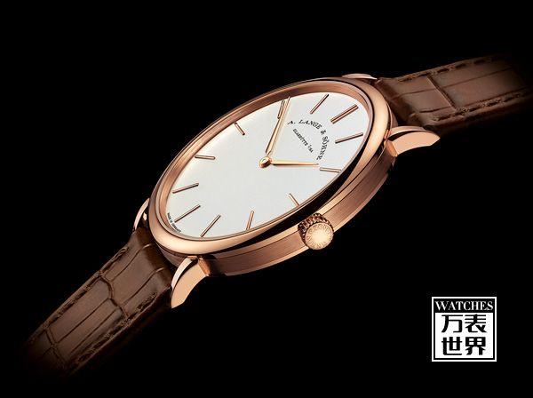 朗格推出全新Saxonia Thin 超薄腕表