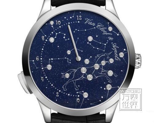 梵克雅宝Poetic Astronomy™诗意星象系列腕表再增添新作