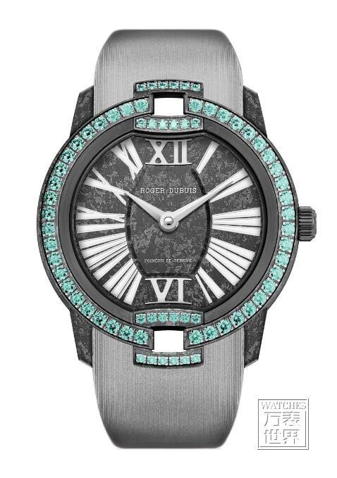 罗杰杜彼推出黑色帕拉依巴碧玺腕表