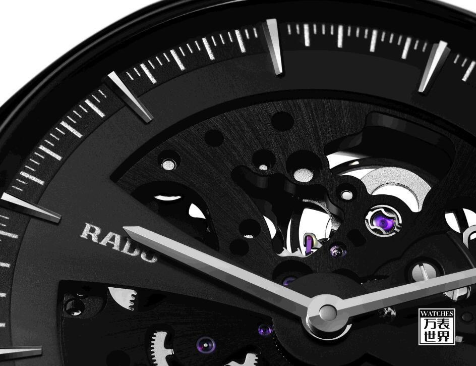 雷达推出True Thinline真薄系列镂空机芯腕表