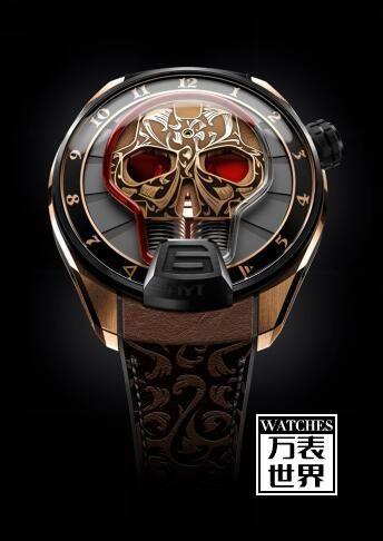 HYT创新推出SKULL MAORI限量版腕表