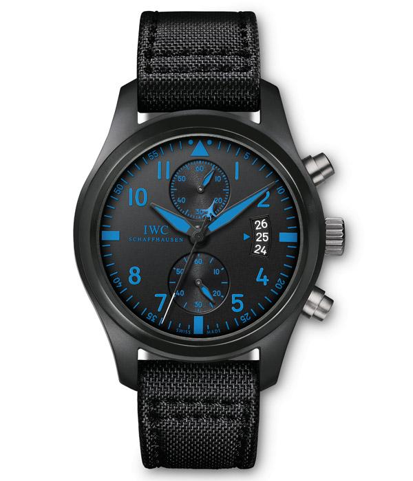 萬國 萬國手表系列 萬國飛行員系列top gun海軍空戰部隊計時腕表專賣圖片