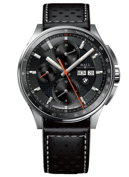 宝马再度携手Ball 推出新款BMW CHRONOGRAPH腕表