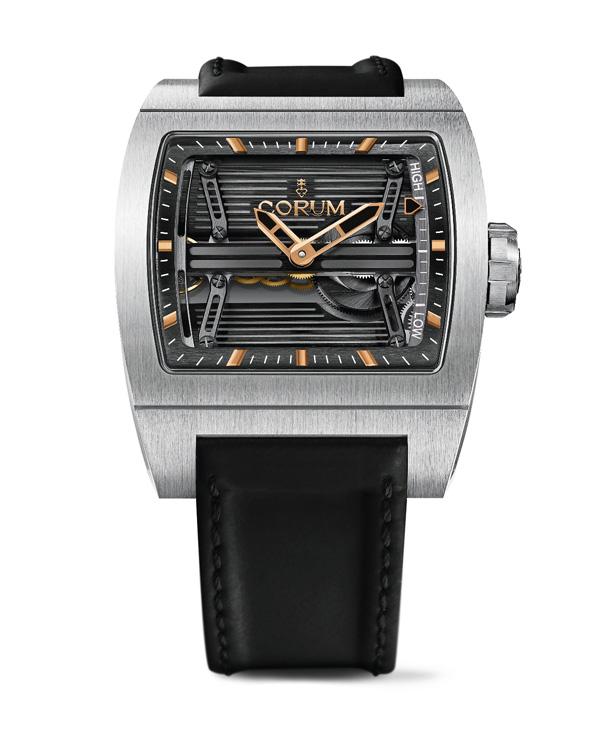 昆仑表为Only Watch打造钛桥三天动力储备腕表