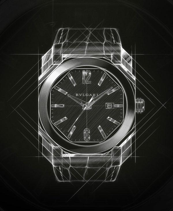 完美解读:宝格丽手表 OCTO玫瑰金系列