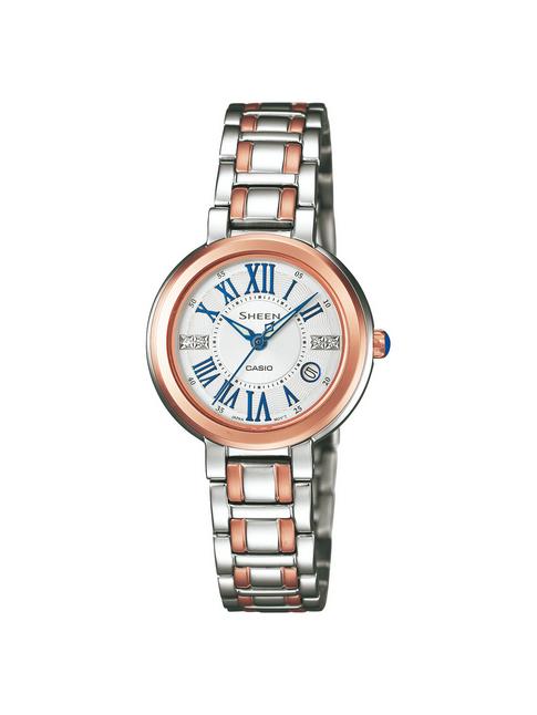卡西欧金属指针女装腕表最新4029系列
