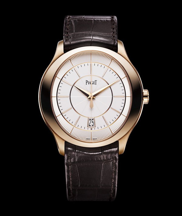 伯爵Piaget Gouverneur腕表 玫瑰金自动上链机械手表