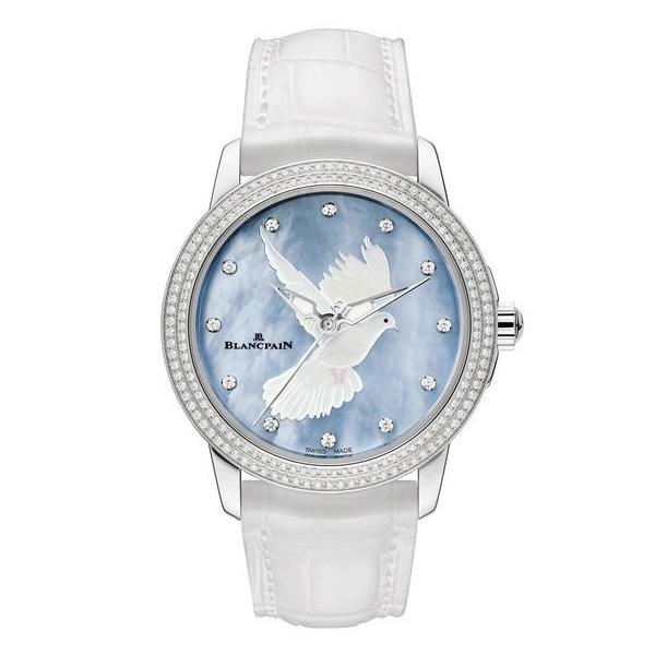 宝珀超薄女装腕表 传递爱与和平的生命赞歌