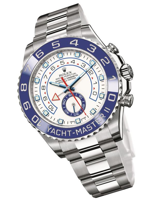 劳力士蚝式恒动游艇名仕型II腕表