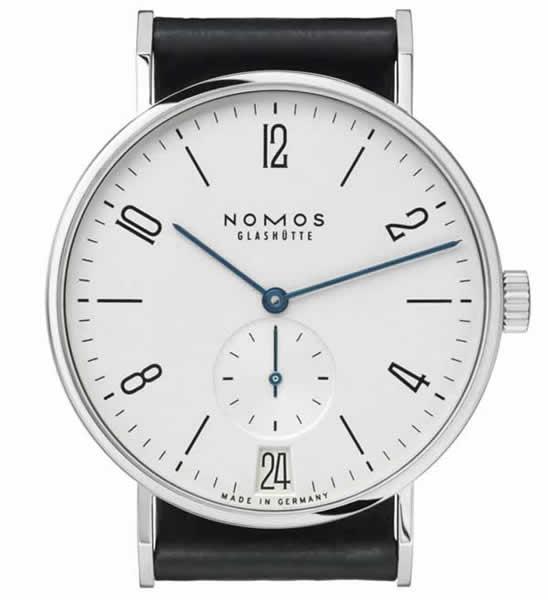 判断nomos手表是否受磁的简单方法
