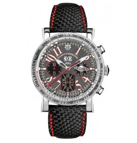 库尔沃推出赛车系列限量计时腕表
