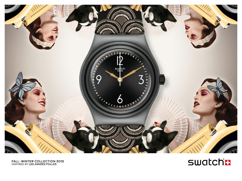 Swatch手表 斯沃琪世界上最大的手表生产商和分销商